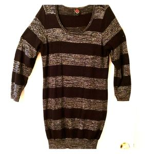 "Torrid ""REBEL"" Shimmer Sweater Dress Size 3 (22/24"